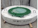Крышка на колодец, колодезная крышка, крышки для колодцев ПП 25-2