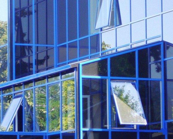 Фото  1 Алюминиевые фасадные системы 1448001