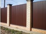 Забор из профнастила - Цена от 44грн /м2 - Киев и область: Белая Церковь, Бровары, Ирпень, Борисполь