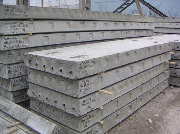 Бетонные плиты ПК 63-15-8, в ассортименте