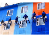 Краски фасадные, для внутренних работ, структурные краски.