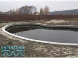 Создание искусственного озера - шпунт ПВХ