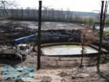 Создание озера, искусственного пруда шпунтом ПВХ