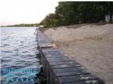 Увеличение и укрепление береговой части шпунт ПВХ