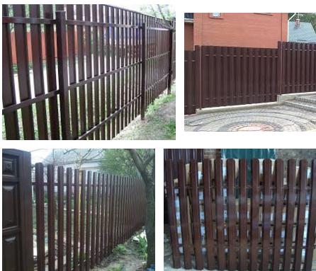 Штакетный забор - Вся Украина