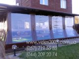 Фото 4 Мягкие окна: Шторы для беседок и веранд, террас, летних кафе, дачи 327638