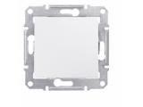 Фото  1 Выключатель одноклавишный Schneider Electric Sedna белый SDN0100121 1943882