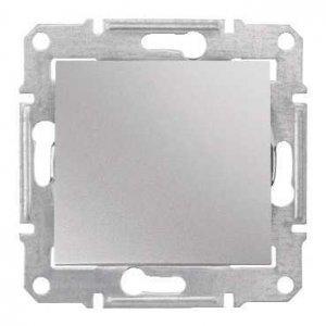Фото  1 Переключатель 1-клавишный Schneider Electric Sedna алюминий SDN0400160 1943899