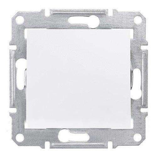 Фото  1 Выключатель 1-клавишный перекрестный Schneider Electric Sedna белый SDN0500121 1943902