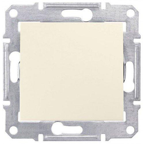 Фото  1 Выключатель кнопочный Schneider Electric Sedna слоновая кость SDN0700123 1943913
