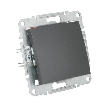 Фото  1 Выключатель кнопочный Schneider Electric Sedna графит SDN0700170 1943916