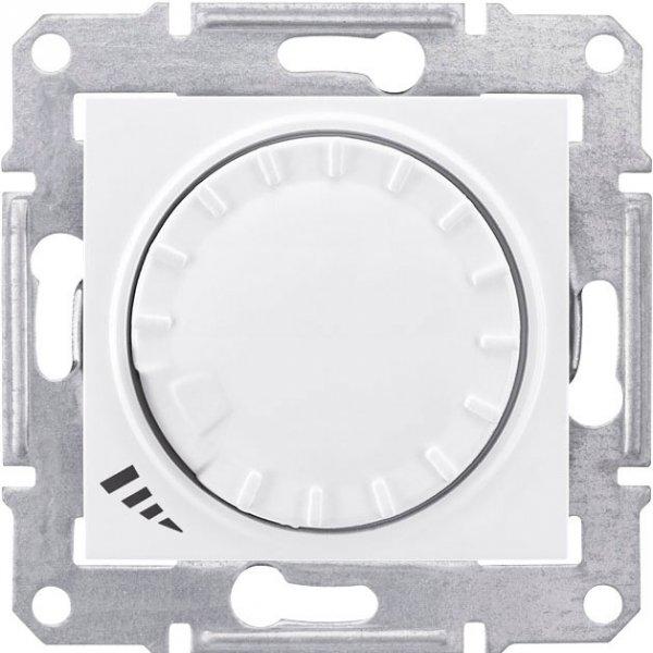 Фото  1 Диммер пов.-наж. LED простой 4-400Вт Schneider Electric Sedna белый SDN2201221 1943932