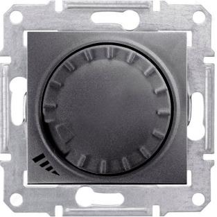Фото  1 Диммер пов.-наж. LED простой 4-400Вт Schneider Electric Sedna графит SDN2201270 1943936