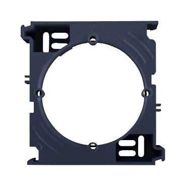 Фото  1 Коробка для наружного монтажа дополнительная Schneider Electric Sedna графит SDN6100270 1944087