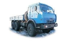 Седельный тягач КамАЗ-5410 с полуприцепом полной массой 19100 кг.