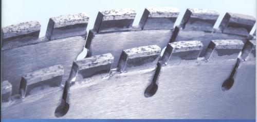 сегменты алмазные для восстановления алмазных коронок и дисков