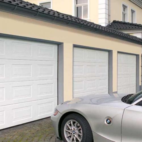 секционные гаражные ворота Hermann.
