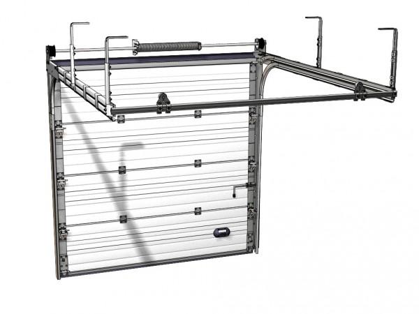 Секционные ворота размером 2,8 х 2,4м. Устанавливаем ворота по вашим размерам. Автоматика для секционных ворот.