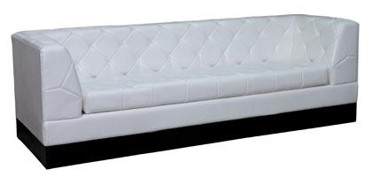 Секционный диван КОМПАС ПЛЮС (с подлокотниками) - отличное решение для залов кафе и баров.