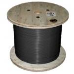 Секция одножильного нагревательного кабеля TXLP BLACK (DRUM). Мощность секции 650 Вт. Длина секции 23,2 м.