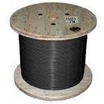 Секция одножильного нагревательного кабеля TXLP BLACK (DRUM). Мощность секции 2430 Вт. Длина секции 79,4 м.