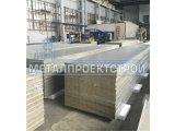 Фото  1 Сэндвич панель стеновая от 50мм базальтовая, минеральная, негорючая вата 2150789