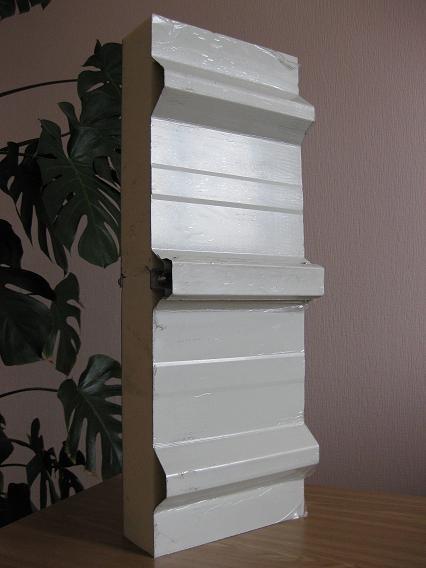 Сэндвич-панели из пенополистирола :Панель крышная с двухстор. облиц. ППС: 1ПТК 175-2х0,5-960.
