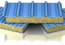 Сэндвич-панели из пенополистирола :Панель крышная с двухстор. облиц. ППС: 1ПТК 40-2х0,5-960.