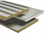 Сэндвич-панели из пенополиуретана :Панель крышная с двухстор. облиц. ППУ: 1ПТК 50-2х0,5-960.