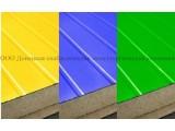 Сэндвич-панели из пенополиуретана:Пане ль стеновая с двухстор. облиц. ПП:1ПТС 40-2х0,5-1190 .