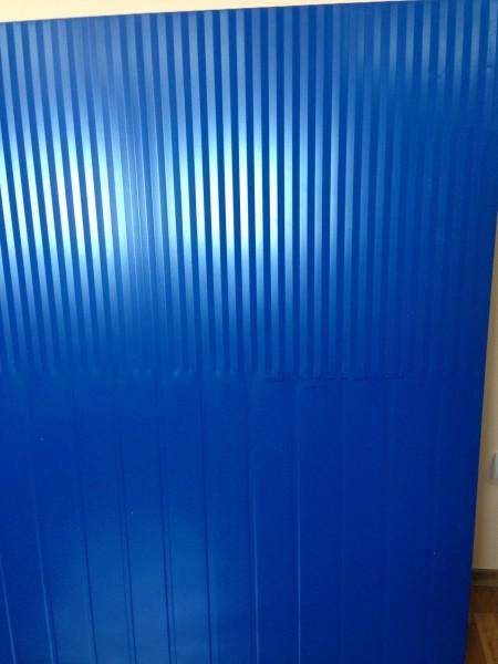 Сэндвич-панели из пенополиуретана:пане ль стеновая с односторонней облицовкой 1ПТС 120-1х0,5-1190 .