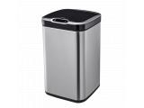 Фото  1 Сенсорное мусорное ведро JAH 20 л квадратное металлик без внутреннего ведра 2015385