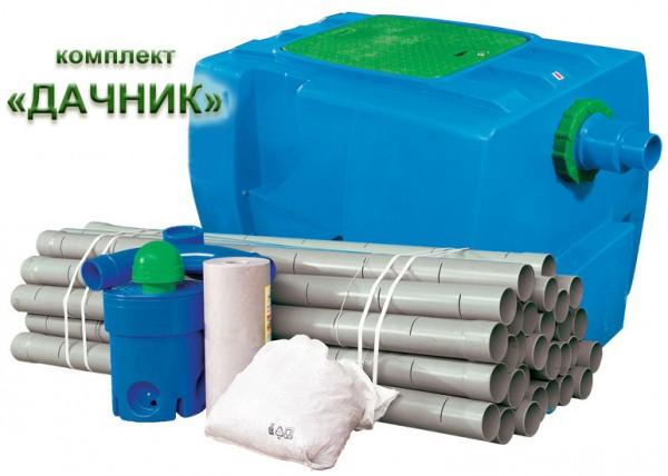 Септик 1 м3 дачник на 300 л стоков в сутки