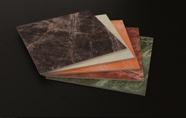 Seramarmi Black 60x60, стекловидная поверхность