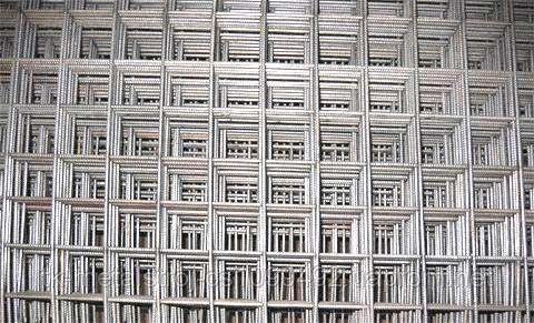 Сетка для армирования бетона 100х100х4