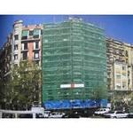 Сетка фасадная 120г/кв. м зеленая