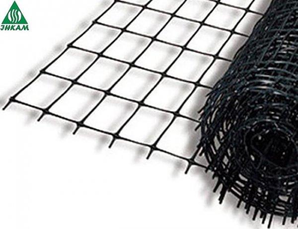 Фото  1 Сетка для ограждения Авиари полипропиленовая 2х200 м (ячейка 15х18 мм) 1845336
