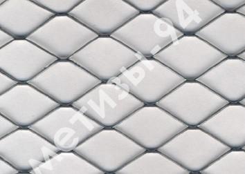 Сетка просечно-вытяжная холоднокатанная и оцинкованная. Ячейка: от 1,5х4,0 до 25х60. Лист: 0,5-0,8.