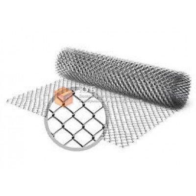 Фото  1 Сетка рабица (1,5 м) оцинкованная (клетка 55 мм) 1750147