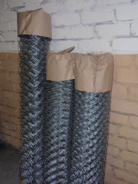 Сетка рабица чёрная 35х35 1,6мм 1,5м