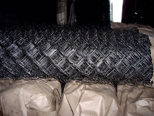 Сетка рабица из необработанной проволоки ГОСТ 3282-74 диаметр 1,4мм. - 5мм. Ширина от 0,5м. до 5м.