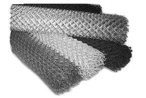 Сетка рабица Оц.50х50; d-2,0; 10м/п h-1,5м