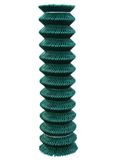 Сетка Рабица с полимерным покрытием 25*1,6/2,5. Высота рулона от 1 до 4 метров; в рулоне 10-25 метров погонных.