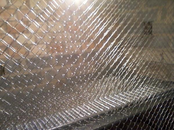 Сетка Рабица ячейка 55*55, д. проволоки 1,8мм. , высота 1,8м