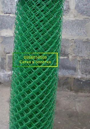 Сетка стальная оцинкованная рабица в покрытии
