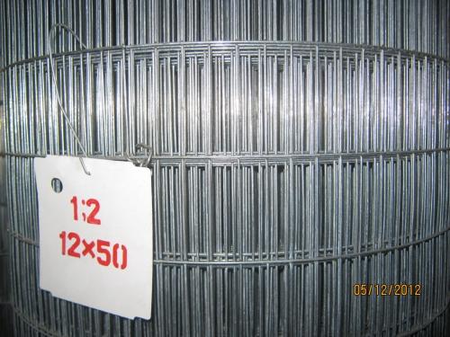 Сетка сварная 12х50/ 1,2 мм. оц.