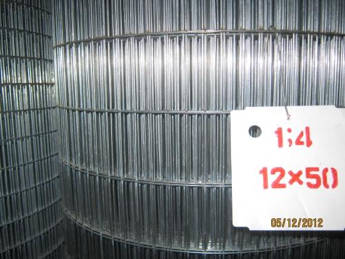 Сетка сварная 12х50 / 1,4 мм. оц.