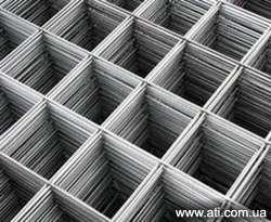 Сетка сварная для кирпичной кладки и армирования бетона от 50*50*3 мм до 100*100*4 мм.