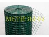 Фото  1 Сетка сварная 50,8х50,8х1,8/1,4 мм с полимерным покрытием 188693