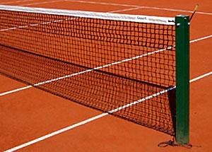 Сетка теннисная двойная, нитка 3,8 мм (производство Германия)